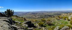 Al fondo la Sierra de Ávila. (Airbeluga) Tags: paisajes segovia nature senderismo naturaleza delarisca castillaleón sendcerrocaloco españa panorama