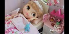 Good Night! - Neo Blythe Sally Rice (mellsdolls) Tags: blythe dollhouse miniature blythedolldress dolldress handmadedolldress sallyrice rement