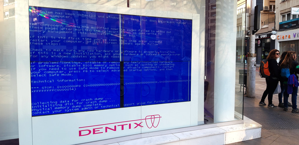 memory management blue screen during install