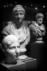 faces of the past (bostankorkulugu) Tags: statue bust greek sculpture roman art artwork museum marble light northamerica america canada ontario toronto royalontariomuseum rom