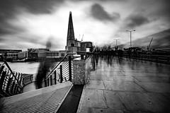 Moody London Bridge.. (The all seeing i) Tags: mono monochrome outdoors london bridge fuji fujifilm nd filter
