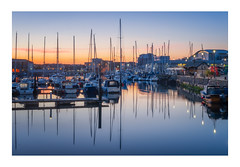 Barbican Reflections (Rich Walker Photography) Tags: plymouth barbican boats yachts yacht reflection reflections harbour sunrise bluehour morning dawn devon landscapes landscape landscapephotography canon england efs1585mmisusm eos eos80d