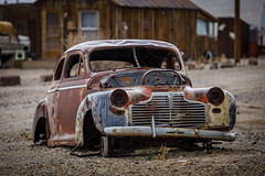 Rusty Abandoned Car (Jeff Sullivan (www.JeffSullivanPhotography.com)) Tags: rusty abandoned car mining town esmeralda county nevada silver trails usa landscape nature travel night photography canon eos 5d mark iv photo copyright 2019 jeff sullivan march