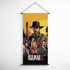Red Dead Redemption 2 Decorative Banner Flag for Gamers BFRDR006 (gamewallart) Tags: background banner billboard blank business concept concrete design empty gallery marketing mock mockup poster template up wall vertical canvas white blue hanging clear display media sign commercial publicity board advertising space message wood texture textured material wallpaper abstract grunge pattern nobody panel structure surface textur print row ad interior