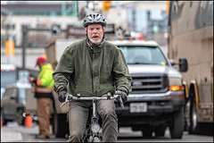 Spring Bicycle Rider on Sussex Drive (Dan Dewan) Tags: dandewan bicycle canonef70200mm14lisusm street canon colour man ottawa march sussexdrive thursday spring canoneos7dmarkii canada ontario 2019 cyclist bike