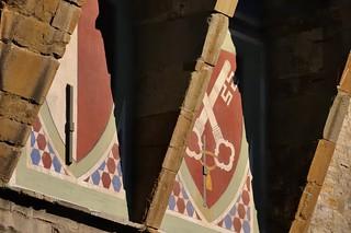Two coats-of-arms - Palazzo Vecchio, Piazza della Signoria, Florence