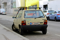 Fiat Uno 45 S i.e. (Dirk A.) Tags: w23468g fiat uno 45 s ie
