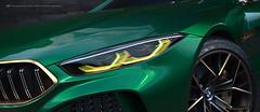 BMW M8 Gran Coupe (BayanAsghar) Tags: bmw m8 gran coupe 3dmodel modeling 3dsmax coro coronarenderer car automotive studio headlight