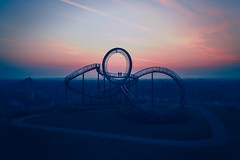 Tiger & Turtle (1/3) (Pascal Riemann) Tags: duisburg ruhrgebiet deutschland drohne person morgenstimmung tigerturtle germany drone morningmood nordrheinwestfalen de