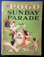 The Pogo Sunday Parade by Walt Kelly Possum Comic Strip Book 5637 (Brechtbug) Tags: pogo possum soft cover news strip cartoon books walt kelly vintage 1950s 50s 1960s 60s albert alligator churchy la femme turtle newspaper comic comics sunday funnies comicstrip opossum animal humor funny beast fable political satire witty southern okefenokee swamp critters south compilation collection alarm scare scared animation character posted 2019