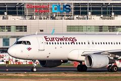 D-AEWL Eurowings Airbus A320-214 (buchroeder.paul) Tags: eddl dus dusseldorf international airport germany europe ground daewl eurowings airbus a320214