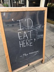 Truth in advertising (birdsey7) Tags: london bloomsbury 2019pad signage