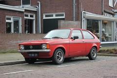Opel Kadett C City 1978 (79-XK-29) (MilanWH) Tags: opel kadett c city 1978 79xk29 hatchback red rouge rood