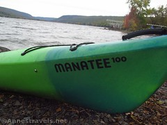 Manatee 100 (annestravels2) Tags: kayak honeoyelake newyork boat lake
