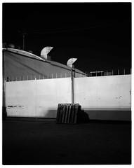 Try it (ADMurr) Tags: dba809 la industrial night 4x5 toyo 135mm black white bw arista film 60 sec