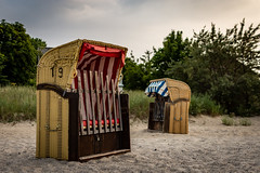 Summer is closed (Pipper678) Tags: germany vacation beach basket timmendorferstrand