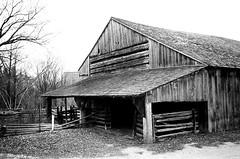 Black Creek Pioneer Village (35mm film) (Richard Pilon) Tags: olympusxa2 blackcreekpioneervillage 35mmfilm toronto bw film filmphotography