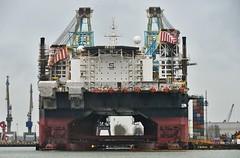 Saipem 7000 (Hugo Sluimer) Tags: nlrtm onzehaven portofrotterdam port haven nederland zuidholland holland nikon nikond500 d500