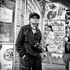 harajuku, japan (michaelalvis) Tags: asia bw blackandwhite candid city citylife camera fujifilm food harajuku japan japanese japon japanesesigns monochrome nihon nippon peoplestreet portrait people peoplestreets photography streetphotography streetlife street signs travel tokyo urban women x70