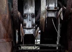 Some kind of saw (hutchphotography2020) Tags: saw teeth rust metal nikon