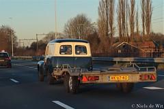 1967 Volvo P210 Duett (NielsdeWit) Tags: wk6740 nielsdewit car vehicle carspot highway snelweg a12 ah7816 volvo p210 210 duett driving 211241 twotone