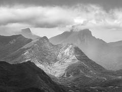 Patch of light. (Chamikajperera) Tags: sri lanka ceylon kandy patch landscape bnw black white canon telephoto meemure travel clouds
