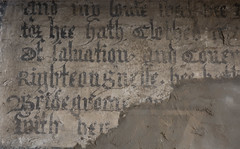close-up blackletter script (Adnams) Tags: thecrosskeysaldeburgh crosskeys aldeburgh suffolk pub adnams