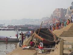 varanasi 2019 (gerben more) Tags: india varanasi benares ganges ganga people boat river ghat