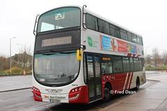 Bus Eireann VWD39 (151C7620). (Fred Dean Jnr) Tags: buseireann volvo wright wrightbus eclipse cork march2019 b5tl gemini3 vwd39 151c7620 mahon mahonpointshoppingcentre buseireannroute202