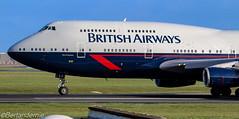 G-BNLY British Airways Boeing 747-436 (Shamrock147) Tags: britishairways retro 747436 747 boeing ba100 dublinairport dublin airplane aircraft avgeek history city swansea gbnly