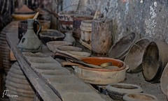 kitchen objects (foula.tsitipidou) Tags: kitchen old dishes spoons