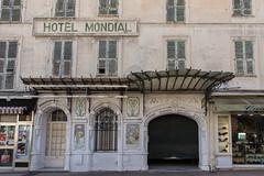 Art Nouveau Facade, Hotel Mondial, Menton (Peter Cook UK) Tags: france art mondial hotel dazur menton facade south 2019 cote nouveau