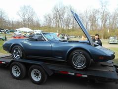1975 Chevy Corvette Convertible (splattergraphics) Tags: 1975 chevy corvette convertible c3 carshow carlisle springcarlisle carlislepa