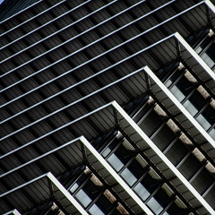 (jfre81) Tags: houston downtown architecture building minmalist pattern abstract exxon city urban perspective jfre81 james fremont canon rebel xs eos