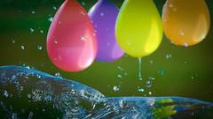 watermove (Uniquva) Tags: smileonsaturday watermove balloons splash drops colors