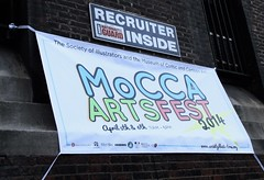 2014 MoCCA Fest NYC Indie Comics Convention 7453 (Brechtbug) Tags: mocca fest 2014 nyc convention museum comics cartoon art 69th armory lexington ave avenue 26th street new york city exposition exterior facade building entrance front floor panorama shot con conventions society illustrators 04052014 newspaper funnies sunday comix illustration comic book artists comicbook