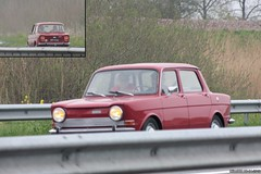 Simca 1000 LS 1972 (59-11-UJ) (MilanWH) Tags: simca 1000 ls 1972 5911uj red rouge rood