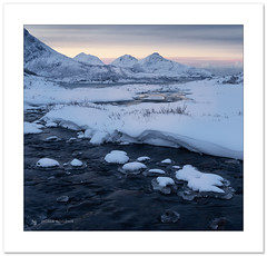 Before the first sunrise (Horia Bogdan) Tags: arctic norway glow snow winter nature landscape horiabogdan