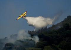 3411 - Canadair CL-415 (Sergio Dini) Tags: sergiodini lumixgx1 lumix gx1 canadair cl415 antincendio incendio anfibio aereo vikingair415superscooper canadaircl415 superscooper bombardier415superscooper
