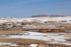 BNSF 8459 Greenland 10 Feb 19 (AK Ween) Tags: bnsf bnsf8459 emd sd70ace greenland colorado jointline greenlandopenspace train railroad i25 gapproject drgw riogrande