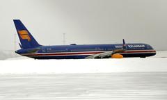 Icelandair TF-ISX, OSL ENGM Gardermoen (Inger Bjørndal Foss) Tags: tfisx icelandair boeing 757 osl engm gardermoen