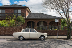 Yarraville (Westographer) Tags: yarraville melbourne australia westernsuburbs suburbia parked streetscape ford fordcortina house home