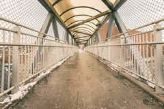 Pape Avenue Overpass (A Great Capture) Tags: concrete urban north cnr toronto papeavenue pedestrian walking overpass bridge agreatcapture agc wwwagreatcapturecom adjm ash2276 ashleylduffus ald mobilejay jamesmitchell on ontario canada canadian photographer northamerica torontoexplore winter l'hiver 2019 gerrardsquare 1635mm