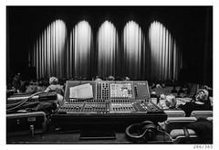 Before the concert (Aljaž Anžič Tuna) Tags: concert lights gallus hall cankarjev dom headphones mixing console soundboard photo365 project365 onephotoaday onceaday 365 35mm 365challenge 365project nikkor nikond800 nice nikon nikkor28mm 28mmf28 28mm dailyphoto d800 day dof hal bw blackandwhite black white blackwhite beautiful