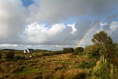 Irish Rainbow (Strocchi) Tags: rainbow arcobaleno irish ireland irlanda landscape green grass clouds canon eos6d 24105mm