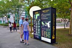 Promotion (chooyutshing) Tags: promotion display lightartinstallation ilightsingaporebicentennialedition rafflesterrace fortcanningpark hillstreet singapore