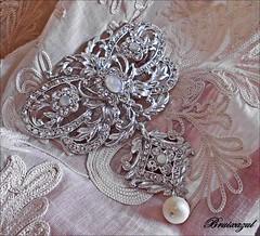 Broche (Brooch) (bruixazul poc a poc...) Tags: broche brooch fallera aderezo plata artesania macromondays jewelry ღღentreamigosღღproyecto365días manteleta