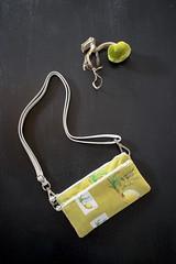 COCONUT SAFFRON WLT (1) (hunnelle.kari) Tags: coconuts sewing crafting fabrics prettyfabrics tropicalfabrics ihatehawaii hawaiidesigner hawaiiartist surfaceprint wallet sling bag