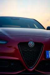 Dani_and_Giulia (my_redGiulia) Tags: automotive alfa romeo alfaromeo giulia alfaromeogiulia cars italiancars italian redcar red rosso germany vehicle ride details