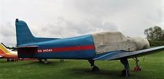 RA-44545 at Popham (chrysanyo) Tags: popham uk russian ga yak18